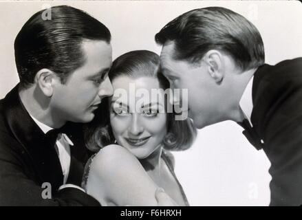 1937, Filmtitel: Braut TRUG rot, Regisseur: DOROTHY ARZNER, Studio: MGM, abgebildet: DOROTHY ARZNER, JOAN CRAWFORD, - Stockfoto