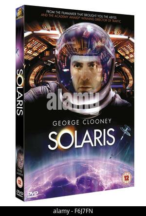 19. November 2002; Los Angeles, Kalifornien, USA; Schauspieler GEORGE CLOONEY Stars wie Chris Kelvin in Steven Soderbergh - Stockfoto