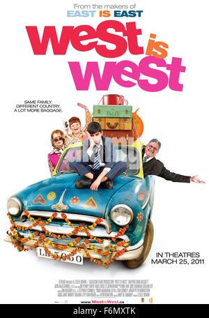 Datum der Freigabe: 25. Februar 2011 FILMTITEL: West ist West STUDIO: BBC Filmen Regie: Andy De Emmony PLOT: Manchester, - Stockfoto
