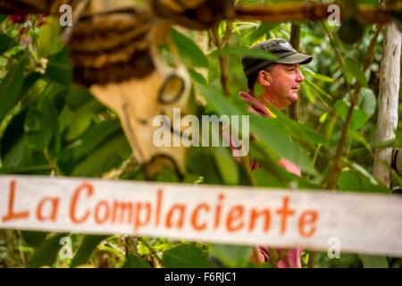 Kubanische Bauer, Viñales, Kuba, Pinar del Río, Kuba - Stockfoto