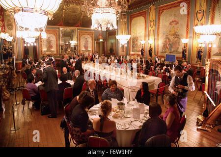 Ein corporate Dinner im Gange am Gebäude Royal Pavilion in Brighton, UK. - Stockfoto