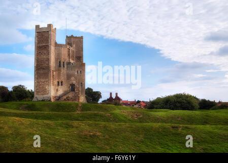 Orford Castle, Suffolk, England, UK - Stockfoto