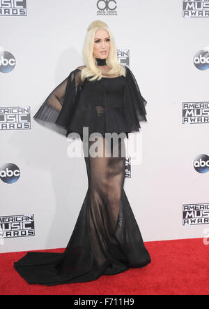 Los Angeles, USA. 22. November 2015. Gwen Stefani an den 2015 American Music Awards statt im Microsoft-Theater in - Stockfoto
