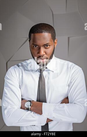 Konzept für Afro amerikanische Geschäftsmann - Stockfoto
