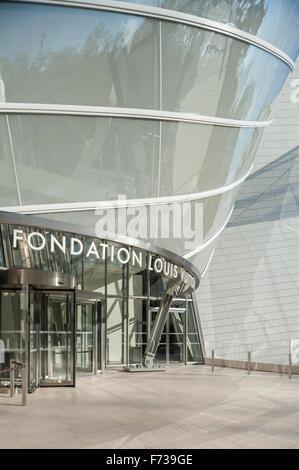 Frankreich, Paris, Fondation Louis Vuitton - Stockfoto
