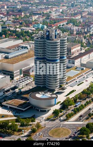 BMW - Gebäude München, Bayern, Deutschland - Stockfoto