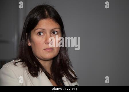 Richyrich, Manchester, UK. 26. November 2015. Lisa Eva Nandy Schatten Energie- und Klima-Änderung-Sekretärin, trifft - Stockfoto