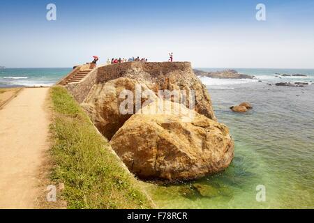 Sri Lanka - Galle, alte Festung, UNESCO, UNESCO-Welterbe - Stockfoto