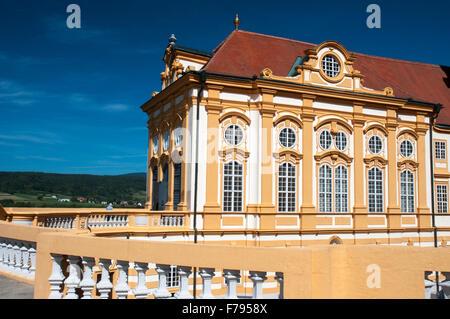 Die Benediktiner Abtei in Melk, Österreich - Stockfoto