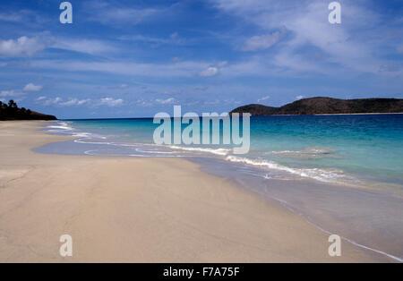 Ruhig Zoni Strand auf Culebra, Puerto Rico - Stockfoto