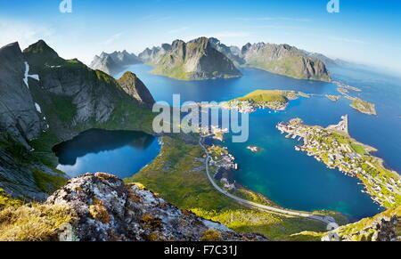 Lofoten Island Reine Location