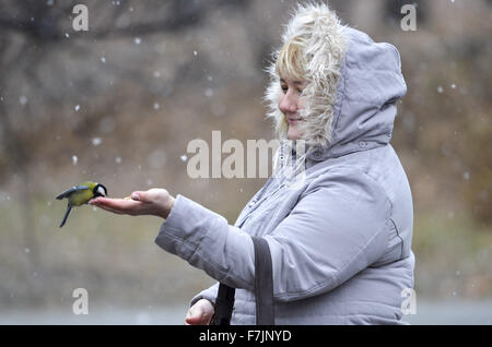 Kiew, Ukraine. 1. Dezember 2015. Wetter in Kiew Credit: Nazar Furyk ...