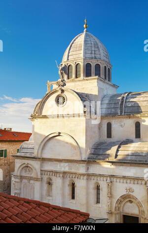 Sibenik, St. James Kathedrale, Kroatien - Stockfoto