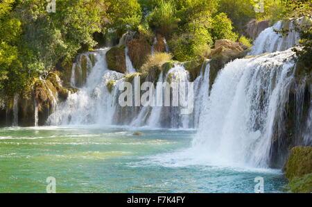 Nationalpark Krka, Kroatien, Europa - Stockfoto