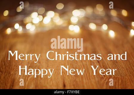 Frohe Weihnachten und guten Rutsch ins neue Jahr typografische ...