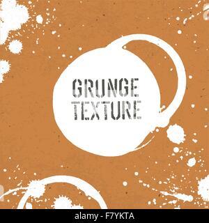Grunge Texturen Vorlage mit Flecken. Vektor - Stockfoto