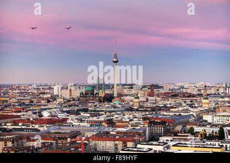 Skyline Berlin, Potsdamer Platz, Deutschland - Stockfoto