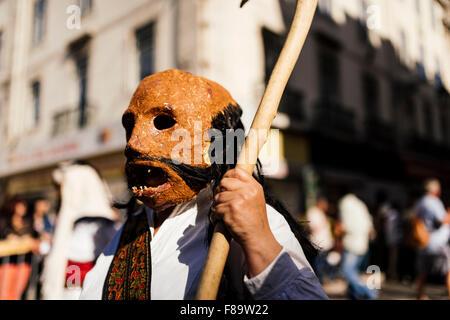 Internationale Festival iberischen Maske, Lissabon, Portugal - Stockfoto