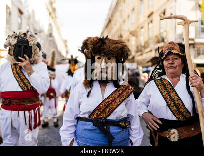 Internationale Festival iberischen Maske, Lissabon, Portugal - Stockfoto