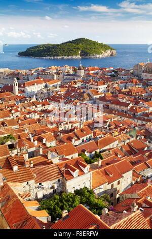 Altstadt von Dubrovnik, Kroatien - Stockfoto