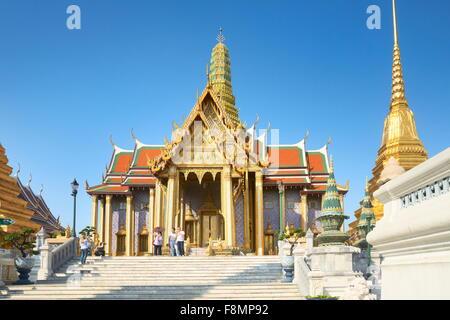 Thailand - Bangkok, Wat Phra Kaeo, Smaragd-Buddha-Tempel - Stockfoto