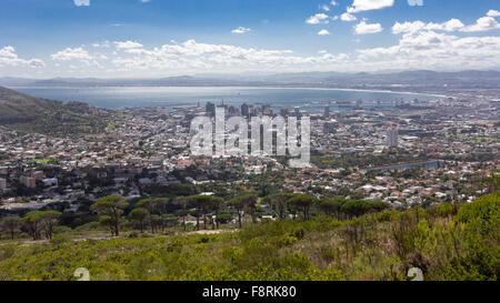 Luftaufnahme von Cape Town, Western Cape, Südafrika - Stockfoto