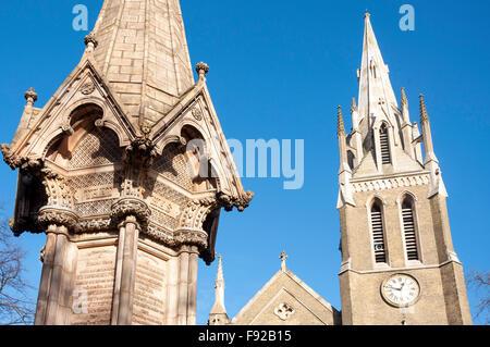 St. Johannes-Kirche, Broadway, Stratford, Newham Borough, Greater London, England, Vereinigtes Königreich - Stockfoto
