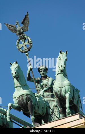 Das Brandenburger Tor, Berlin, Deutschland - Stockfoto