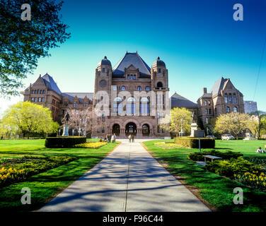 Ontario Legislative Building, Toronto, Ontario, Kanada - Stockfoto