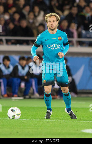 International Stadium Yokohama, Kanagawa, Japan. 17. Dezember 2015. Ivan Rakitic (Barcelona), 17. Dezember 2015 - Stockfoto