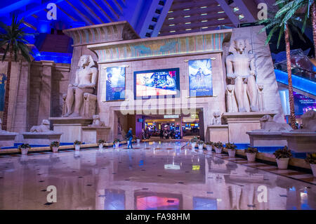 Das Luxor Hotel and Casino in Las Vegas - Stockfoto