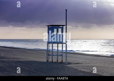 Strand in Maspalomas. Maspalomas, Gran Canaria, Kanarische Inseln, Spanien - Stockfoto