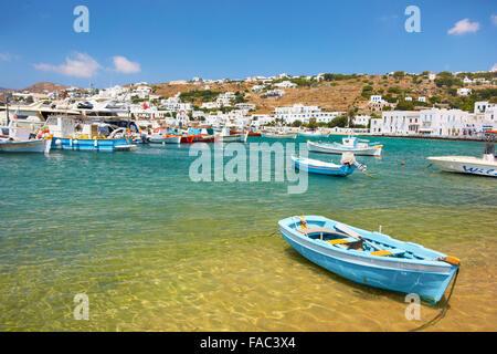 Mykonos - Kykladen, Griechenland - Stockfoto