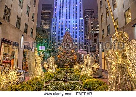 Rockefeller center weihnachtsbaum beleuchtungszeremonie stockfoto bild 32757919 alamy - Weihnachtsbaum rockefeller center ...