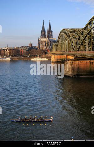 Hohenzollernbrücke - Stockfoto