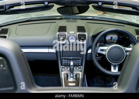 Dashboard Interieur Auto Stockfoto, Bild: 114776687 - Alamy