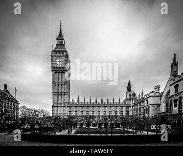 Big Ben und den Houses of Parliament, London, UK. - Stockfoto