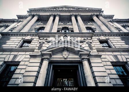 Ministerium für Kultur, Medien und Sport, HM Revenue and Customs, Gebäude in Whitehall, London, UK. - Stockfoto