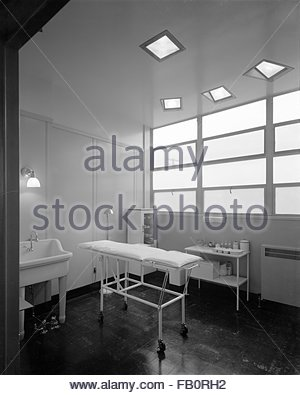 Chrysler-Krankenhaus in Detroit (Michigan), 17. Januar 1940 ...