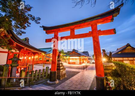 Fushimi Inari-Taisha-Schrein in Kyōto, Japan. - Stockfoto