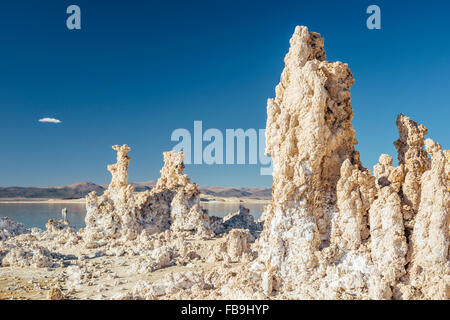Tuffstein Felsformationen am South Tufa, Mono Lake, Kalifornien - Stockfoto