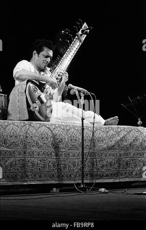 Ravi Shankar - 1968 - Indien - Ravi Shankar, Indien, 1968 - Philippe Gras / Le Pictorium - Stockfoto