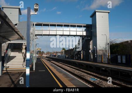 Maasmechelen Village Bahnhof, Oxfordshire, Vereinigtes Königreich - Stockfoto