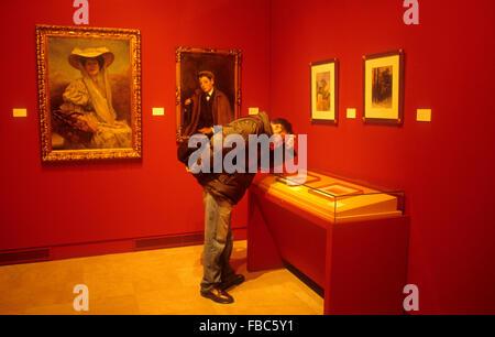 Malaga.Andalusia Spanien: Museum der bildenden Künste. - Stockfoto