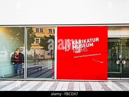 Karikaturmuseum Krems, Wachau, Niederösterreich; Karikatur Museum, Krems, Wachau Österreich