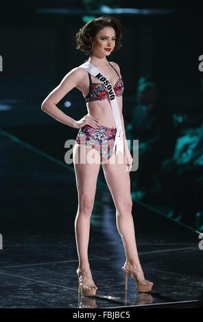 Miss Universe 2015 vorläufige Wettbewerb an der Achse im
