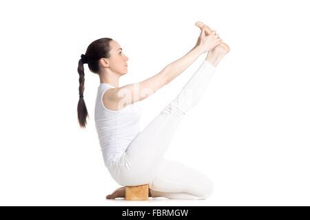 teenager m dchen tun pilates mit einem gymnastikball stockfoto bild 34969419 alamy. Black Bedroom Furniture Sets. Home Design Ideas