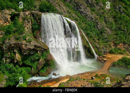Krcic Wasserfälle - Wasserfall Krcic 15 - Stockfoto