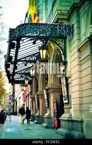 Gran Teatre del Liceu - Theater Liceu. Barcelona, Katalonien, Spanien - Stockfoto