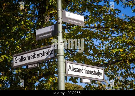 ABBILDUNG DER STADT BERLIN, DEUTSCHLAND - Stockfoto